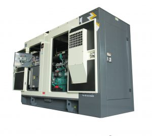 genset ABC power tes commisioning