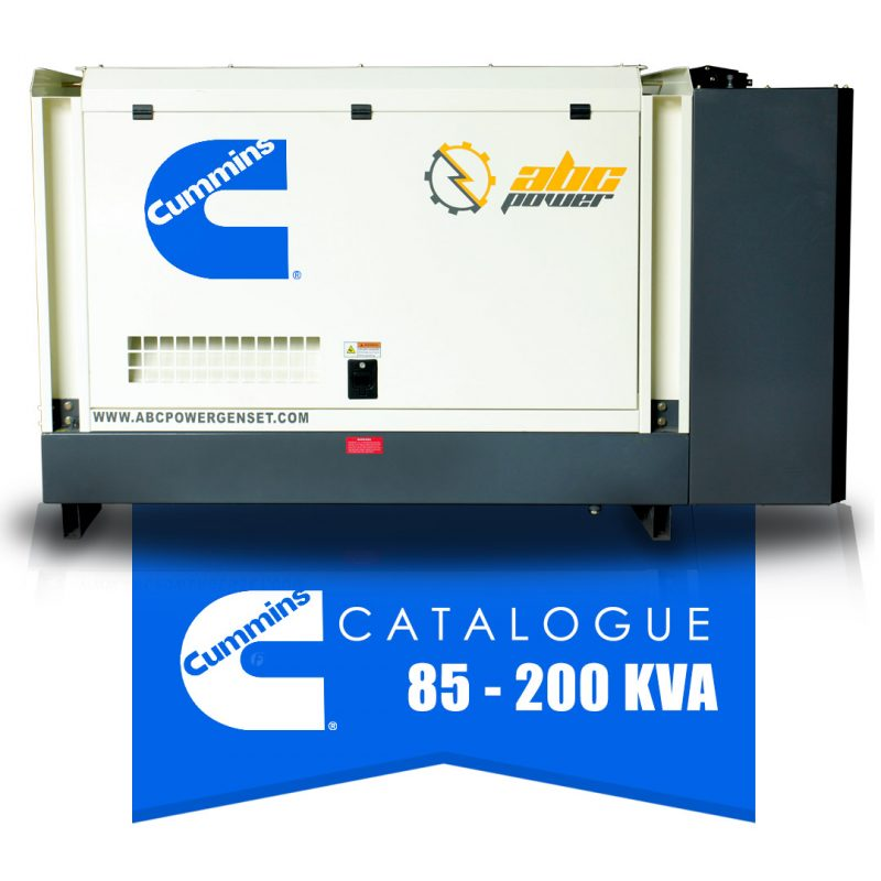 katalog genset cummins 85-200 kva abc power