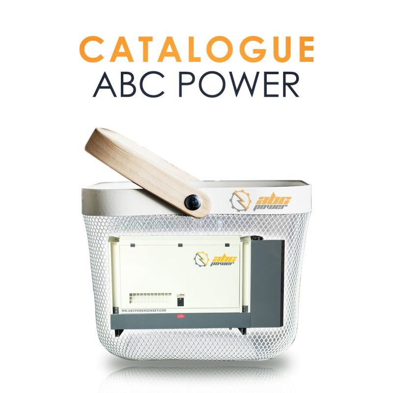 katalog produk genset ABC Power